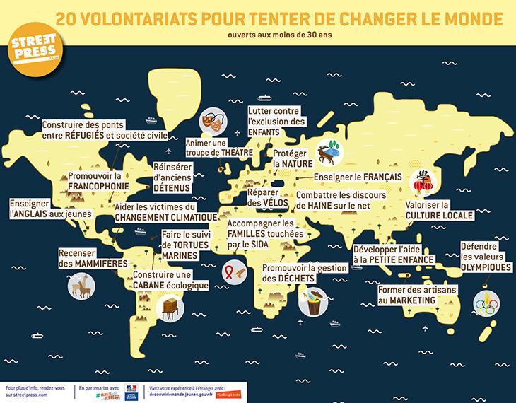 carte volontariats