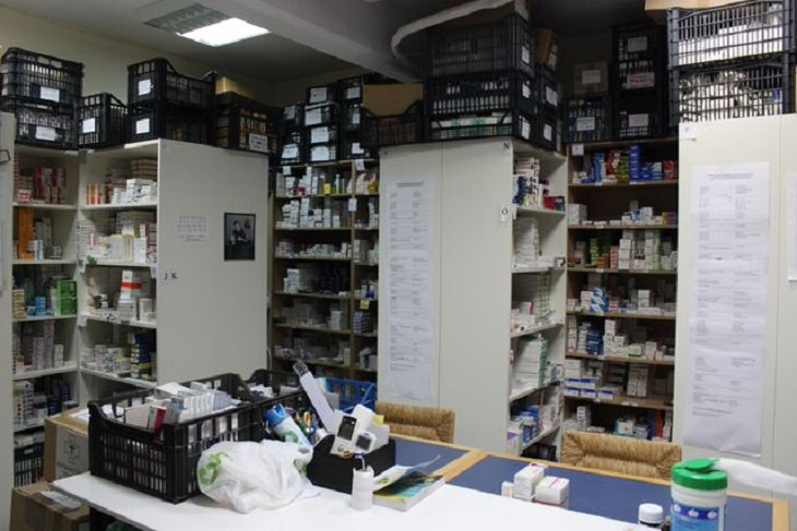 clinique grece pharmacie