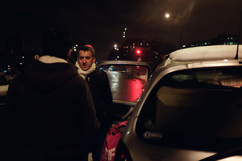 réfugiés nuit paris 1