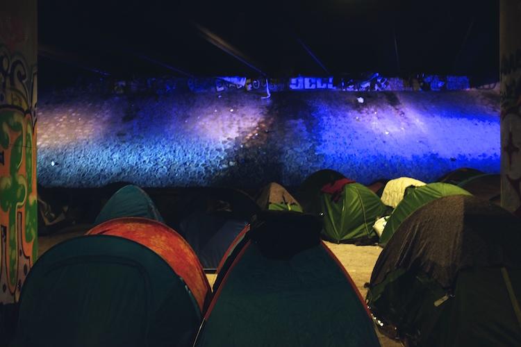 réfugiés paris nuit 2