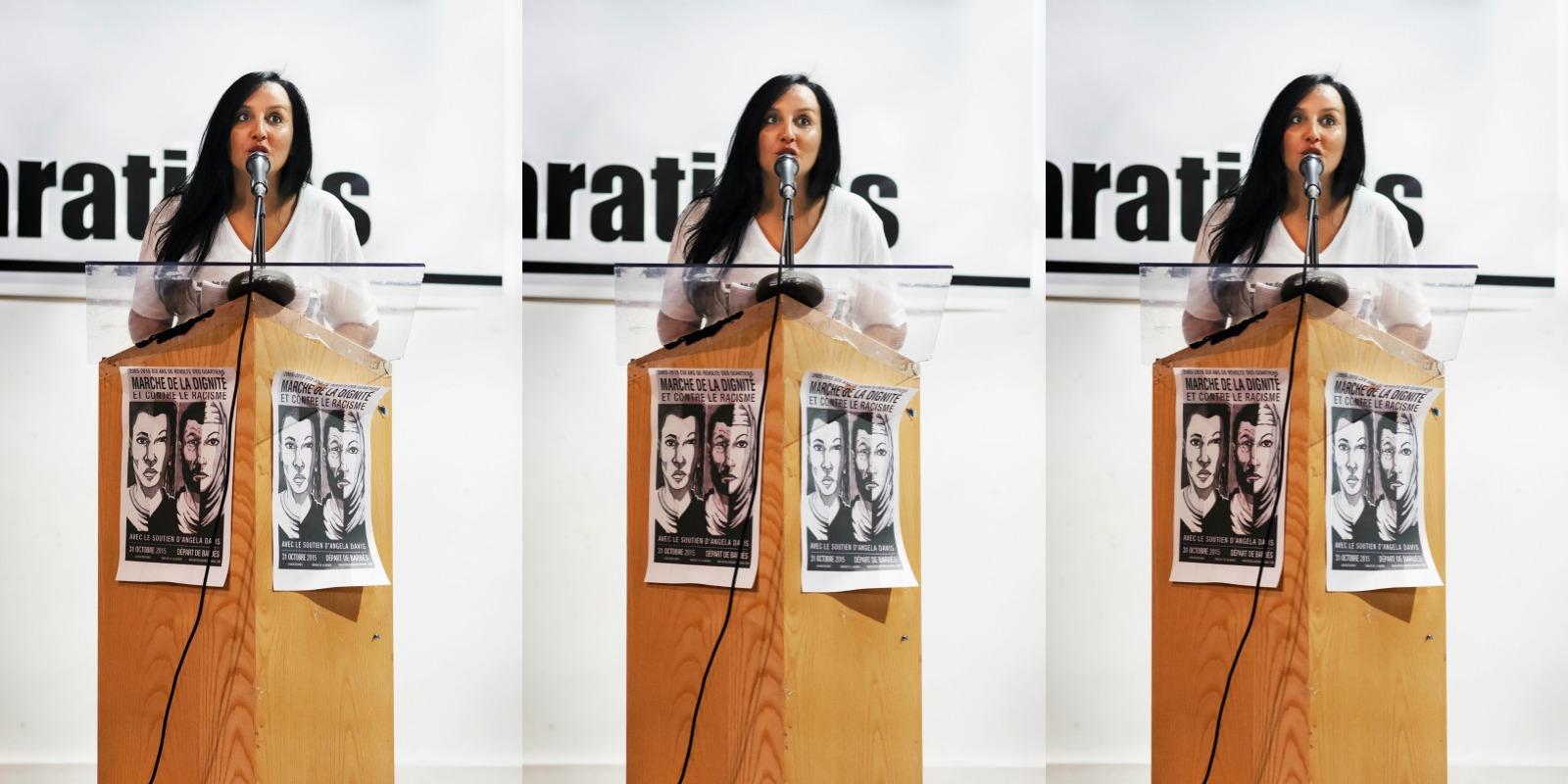 Amal Bentounsi, la militante à l'origine de la marche de la dignité