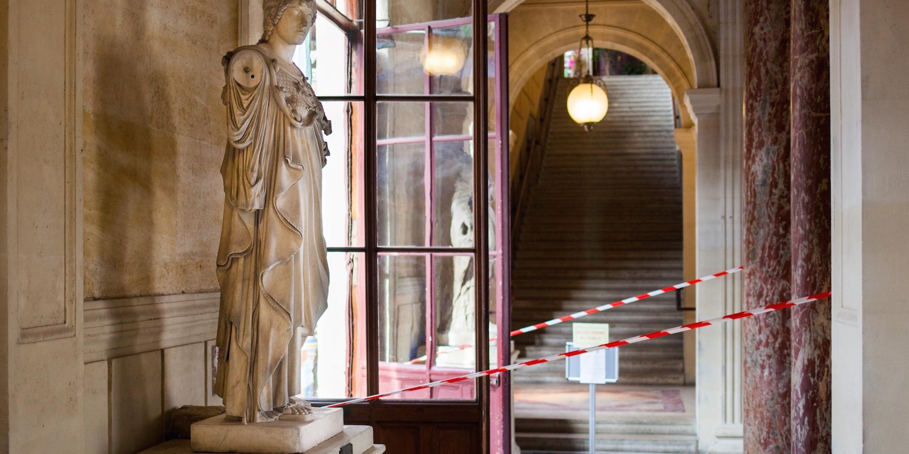 Harcèlement à caractère raciste à l'école des beaux-arts de Paris