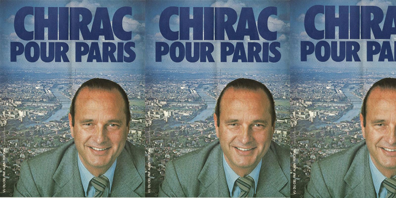 Jacques Chirac et la politique de la motocrotte