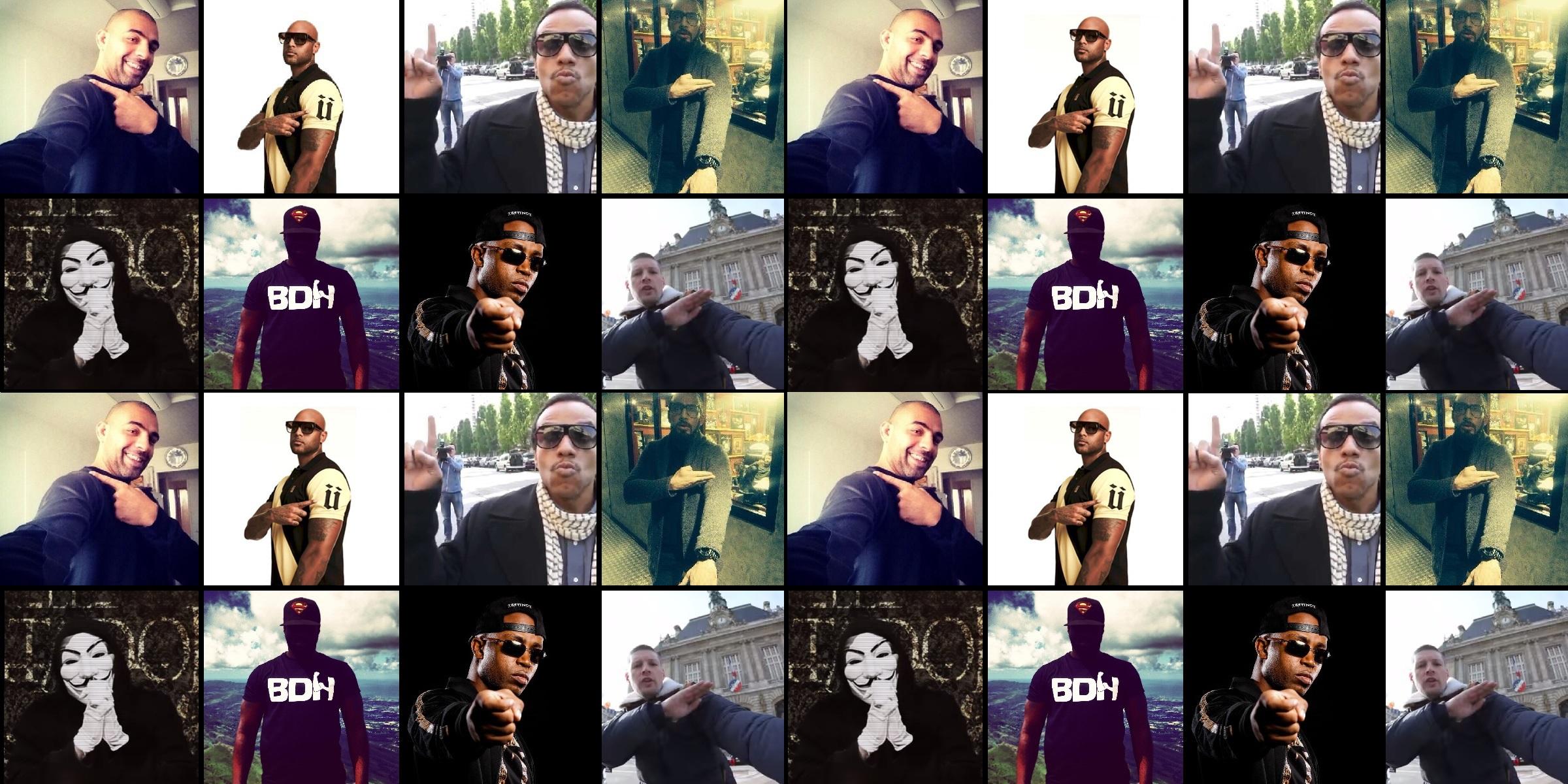 Le rap français part en quenelle