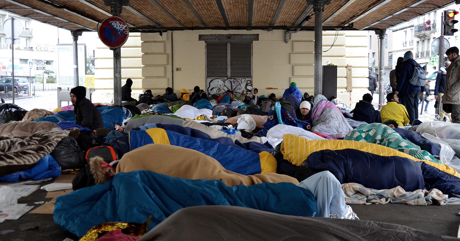 Le camp de réfugiés de Stalingrad démantelé