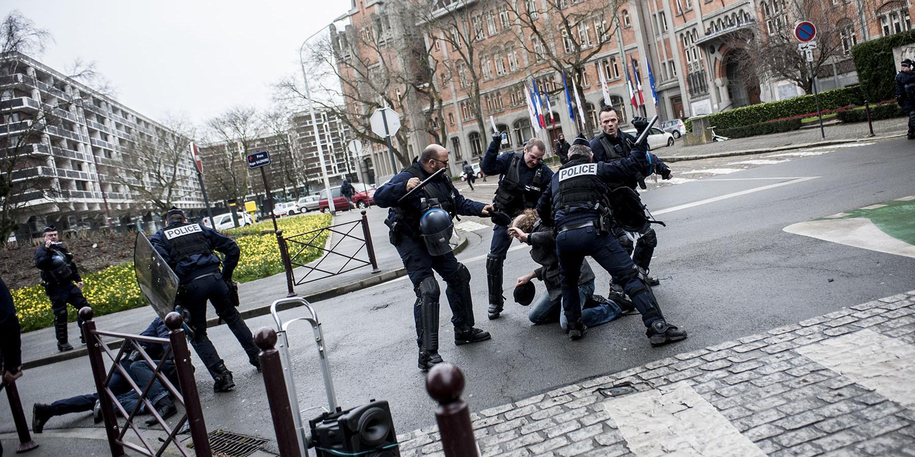 a lille la police s clate streetpress
