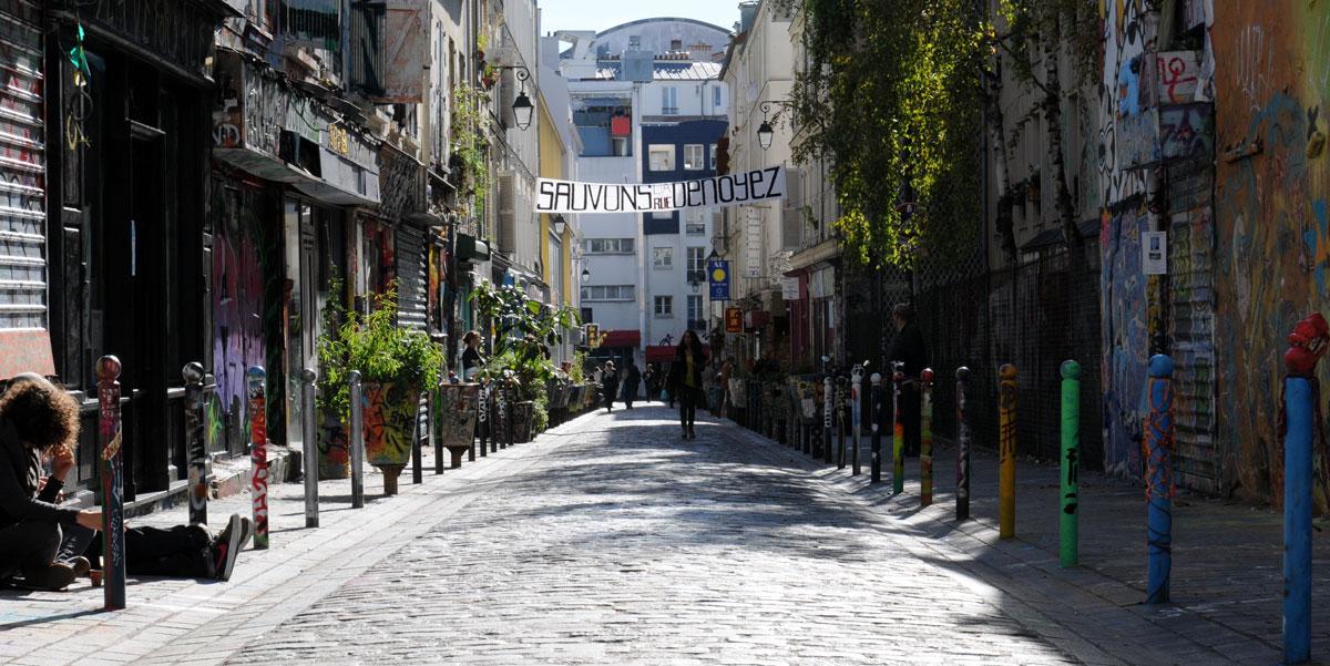 La rue du street art à Paris bientôt amputée par la mairie