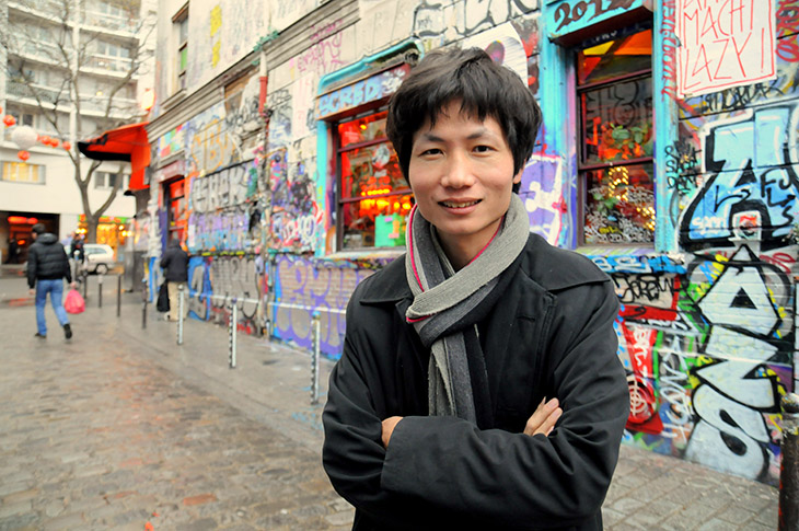 Municipales : Martin Shi, ex-sans pap' et candidat PS