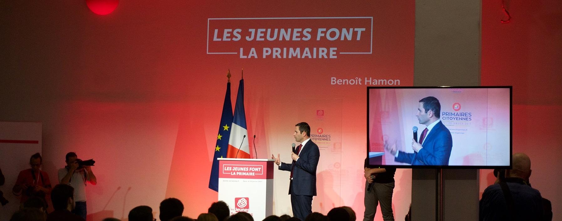 Le Mouvement des jeunes socialistes roule pour Hamon