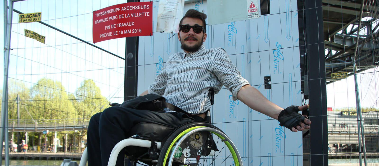 I Wheel Share : un réseau social pour les personnes handicapées
