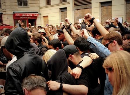 Antifas: le calme et la colère