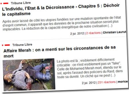 Agoravox : Vie et mort d'un site de journalisme-citoyen à la française