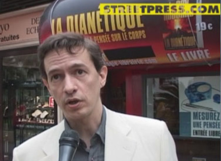 Mais qu'est ce qu'ils foutent à Cannes ? Eric Roux, Ministre de l'Église de Scientologie