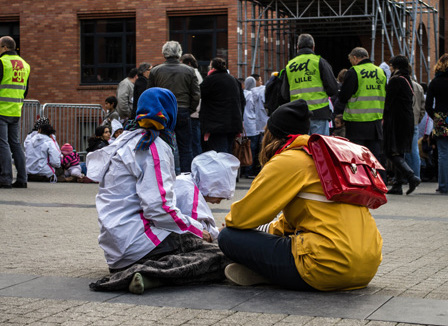 Lille : Bout du tunnel pour les Roms de la Bourse du travail