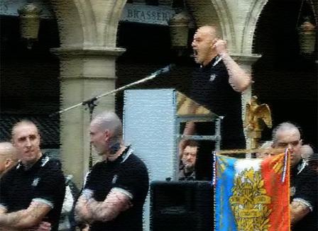 Les skinheads de « Troisième Voie » défileront samedi au coeur de Paris