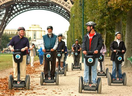 Plutôt jeu de piste, jogging ou Segway pour découvrir Paris ?