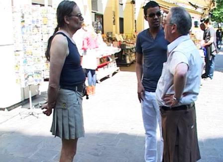 Une après-midi shopping avec «les hommes en jupes»