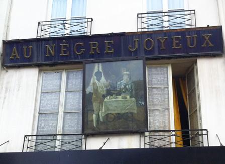 Frédéric Mitterrand retirera-t-il la fresque «Au Nègre Joyeux» ?
