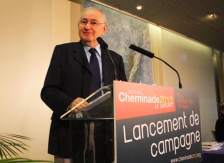 Jacques Cheminade à la conquête des 500 parrainages