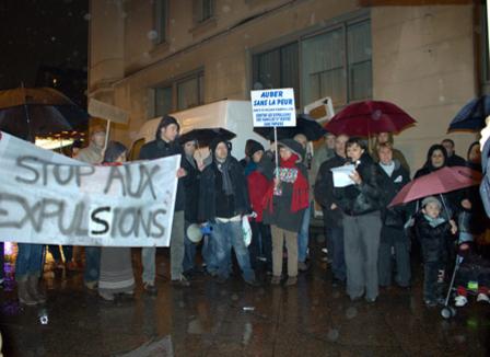 A Aubervilliers la mobilisation continue pour le père de famille chinois expulsé