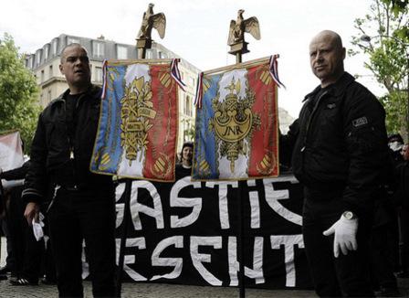 La carte des droites nationales et radicales à Paris