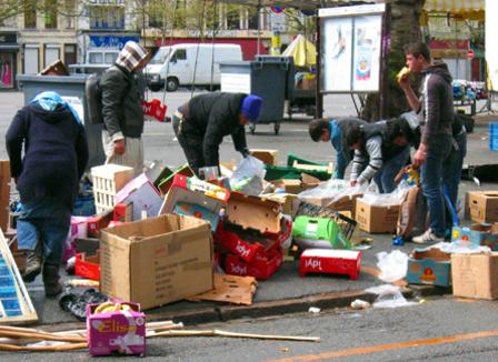 « Paternaliste », « équitable »: A Lille, la tente des glaneurs divise les pros de la récup' alimentaire