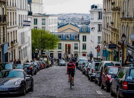 La Hou's Alleycat, une course cycliste de coursiers dans les rues de Paris