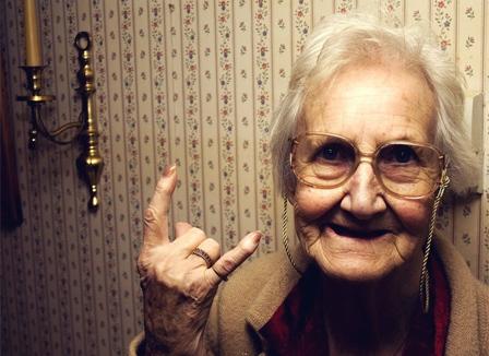 Ma grand mère c'est pas une boloss