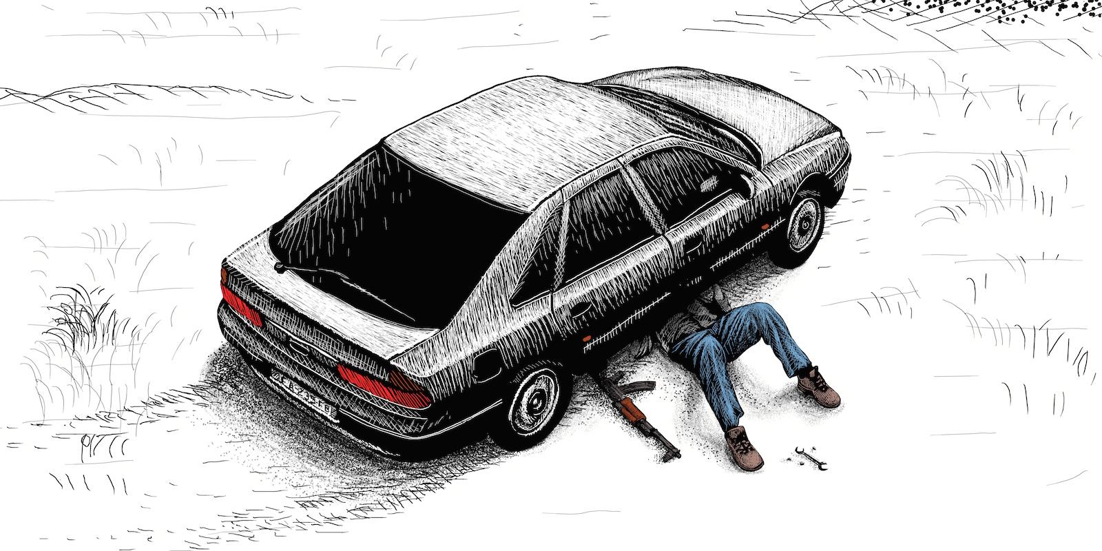 Le trafic d'armes oublié qui impliquait déjà Claude Hermant