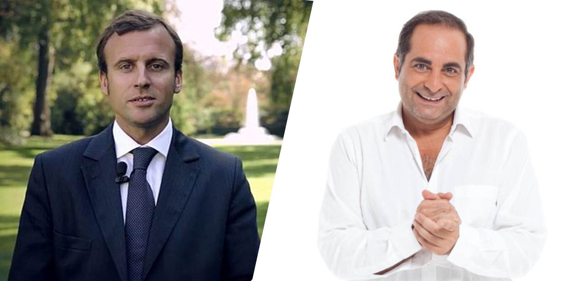 Laurent Fontaine coache les principaux soutiens d'Emmanuel Macron