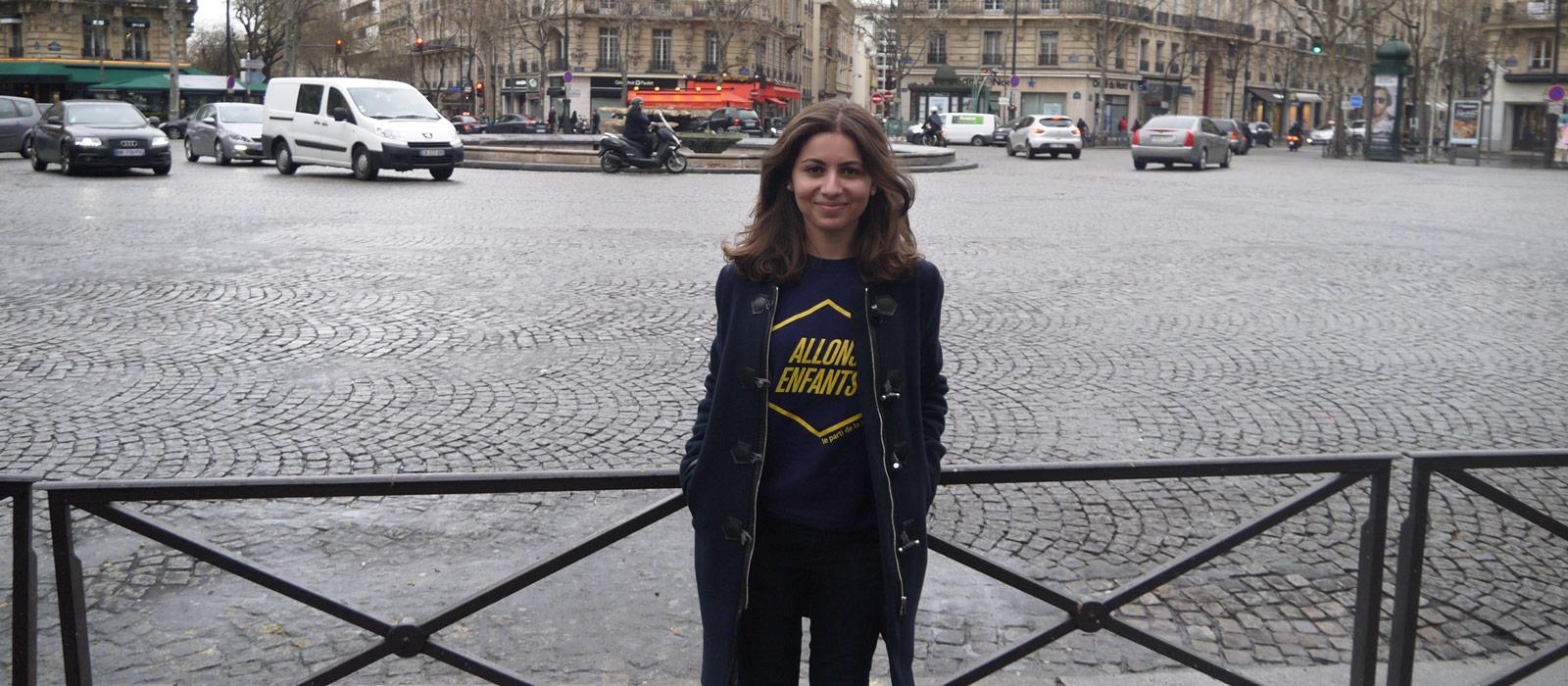 Morane, l'étudiante derrière la pétition en faveur du centre pour SDF du 16e
