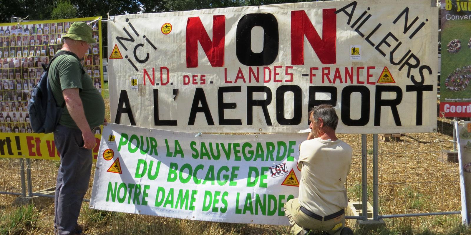 La confédération paysanne dépose un nouveau recours contre le projet de Notre-Dame-des-Landes