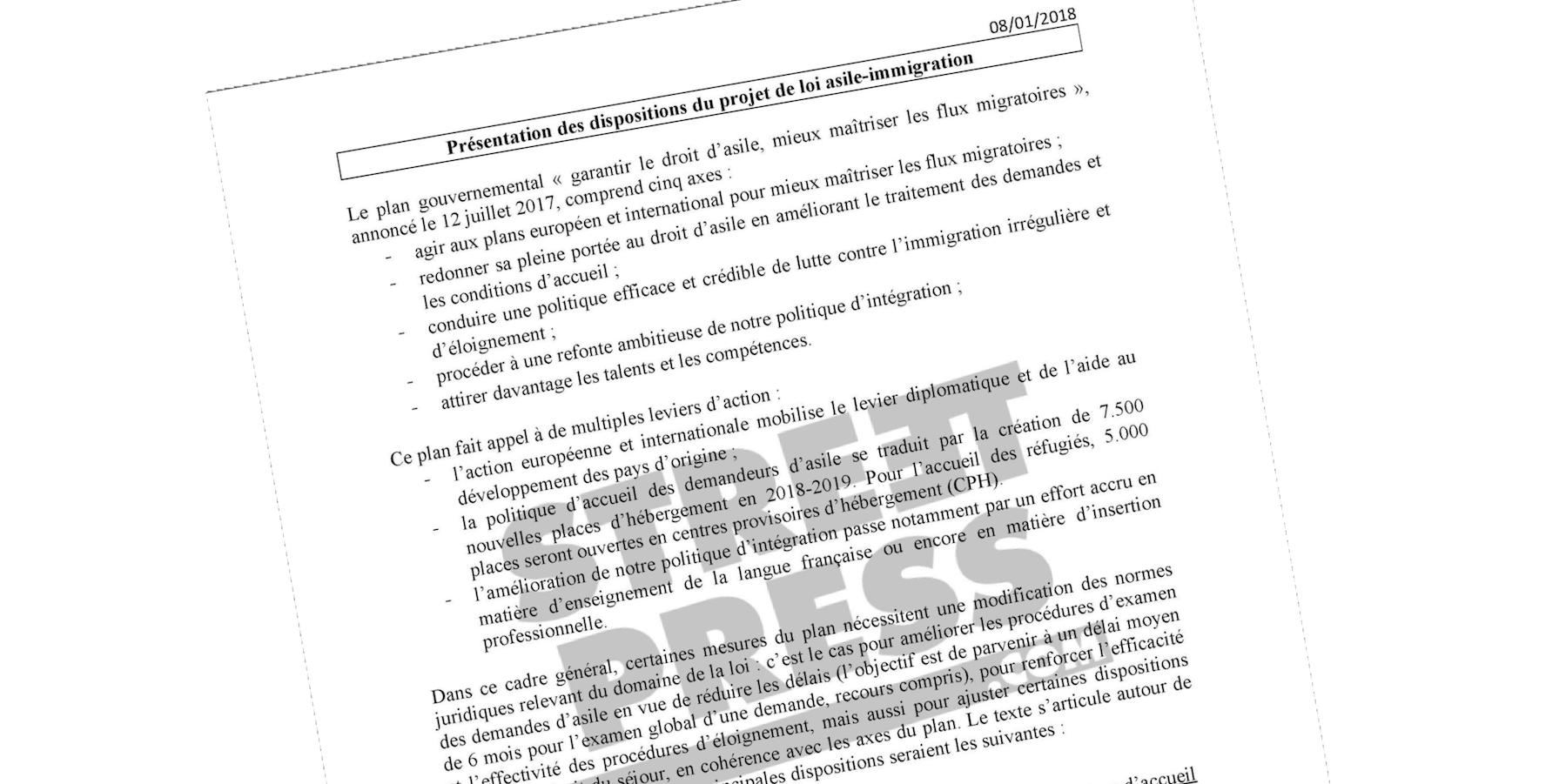 Les pistes du gouvernement Macron pour expulser plus de migrants