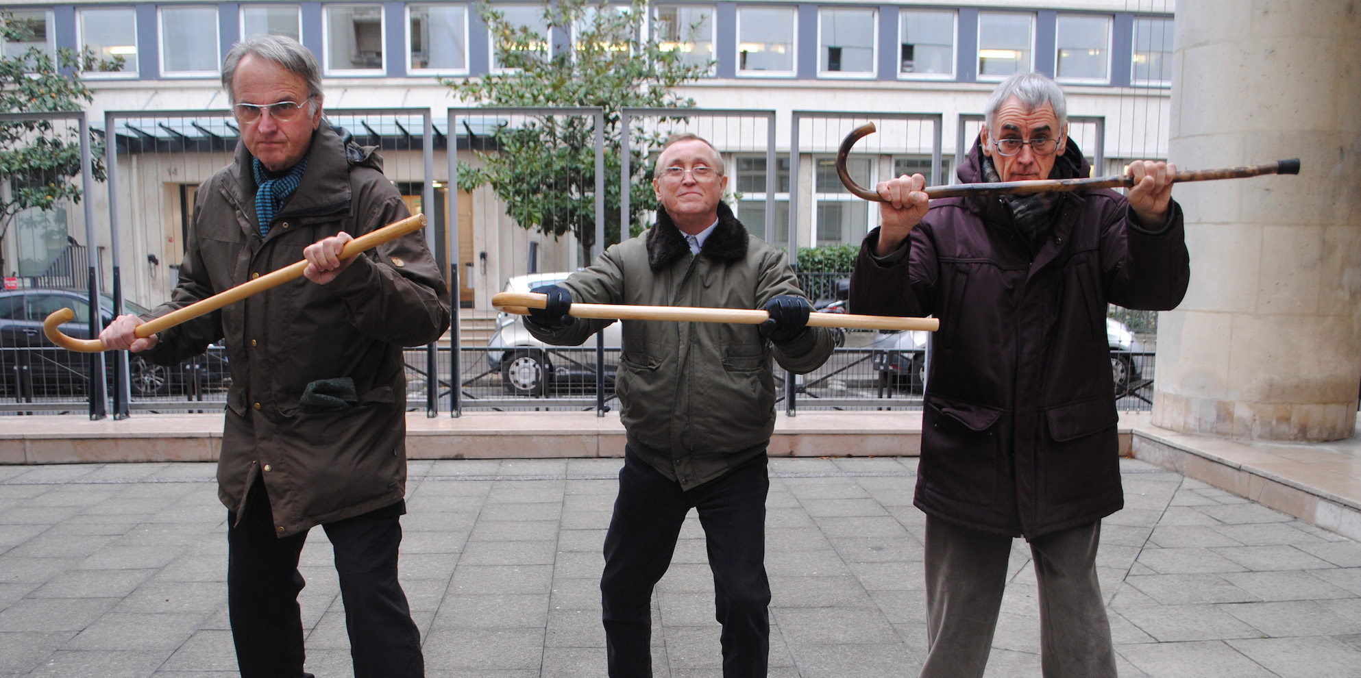 Fight club pour seniors