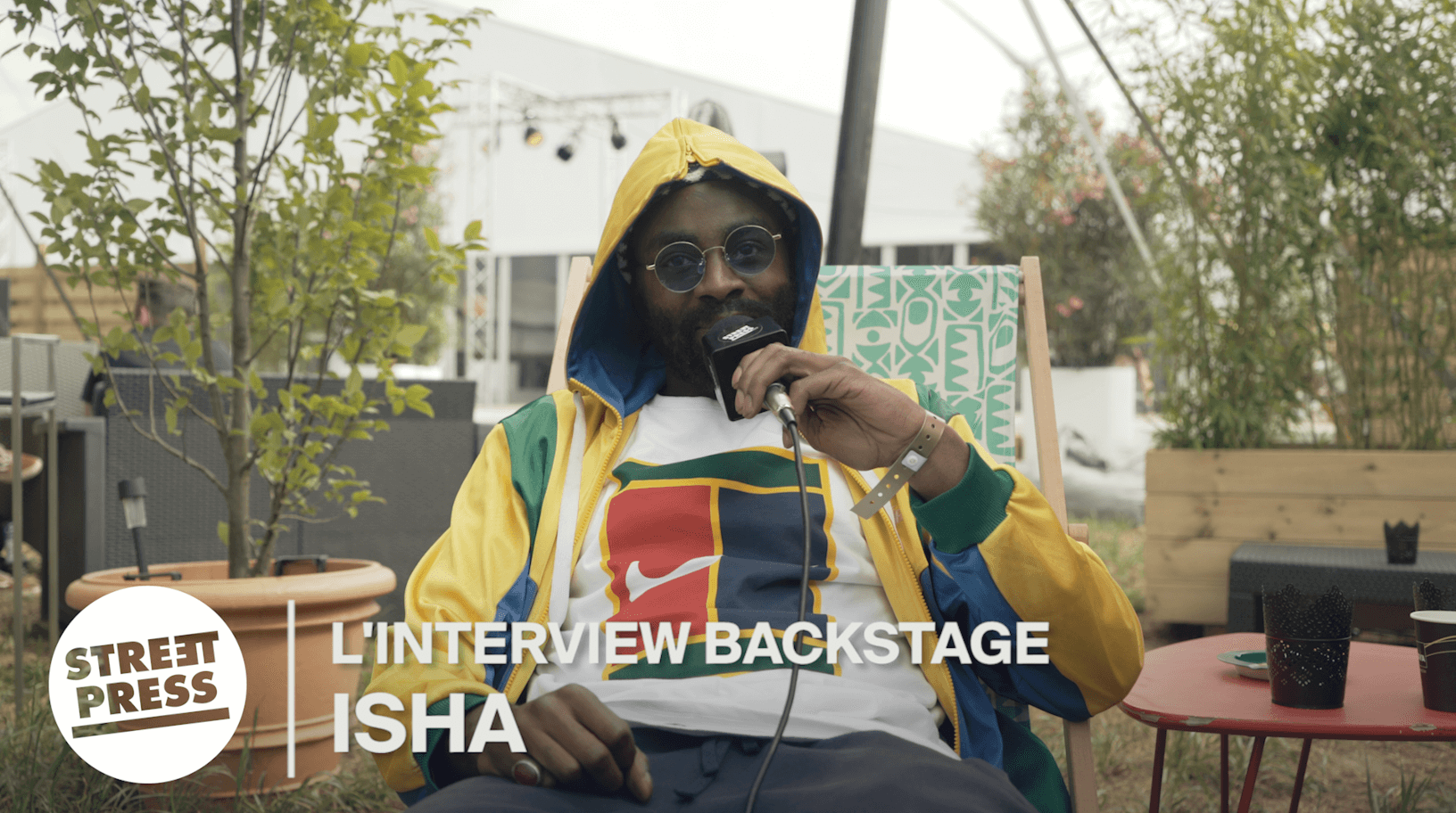 L'interview Backstage de ISHA
