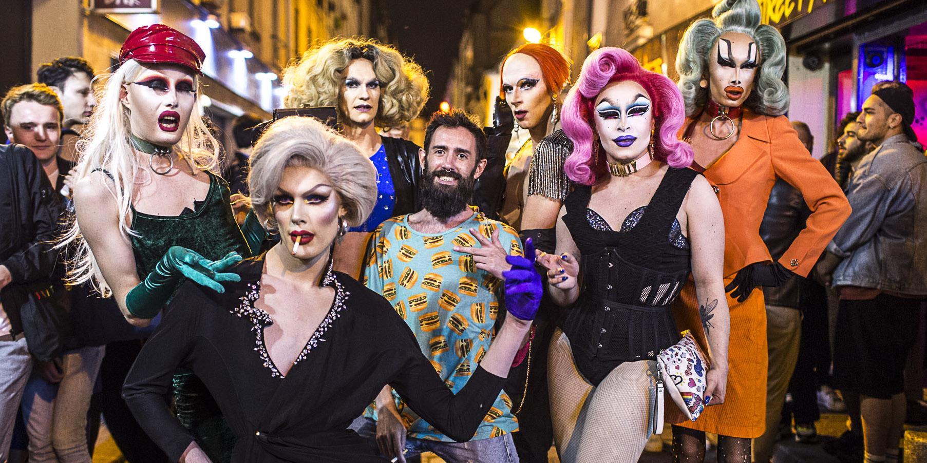 Fabien Lesage, le prince des soirées drag-queen à Paris