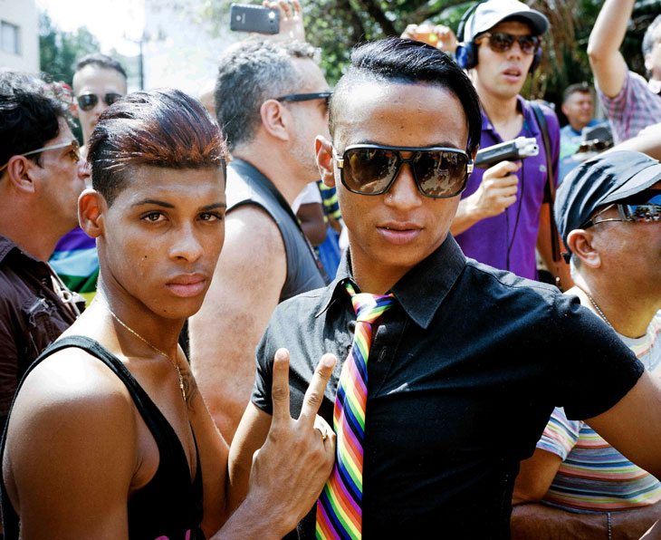 Photos : Une gay pride...