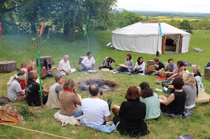 Barcbecue chamanique