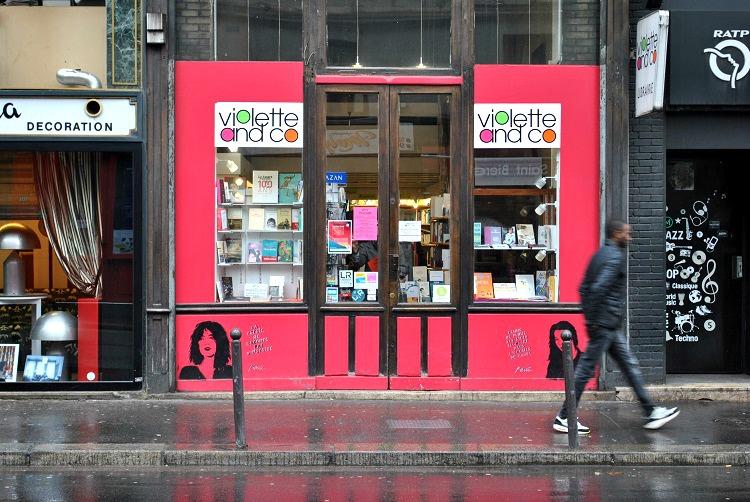 Violette & Co librairie extérieur