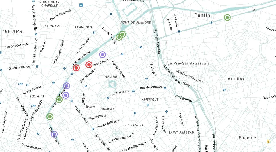 Map La Défense