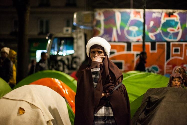 refugiés stal femme