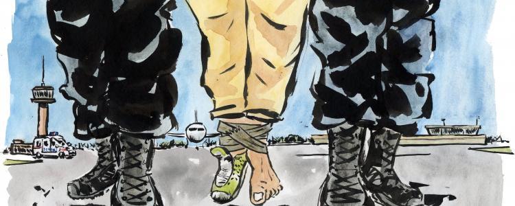 Bavures en série au centre de rétention du Mesnil-Amelot: 27 plaintes en 2017