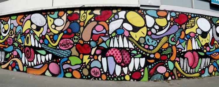 La belle Vitry'N : la maison du Street Art