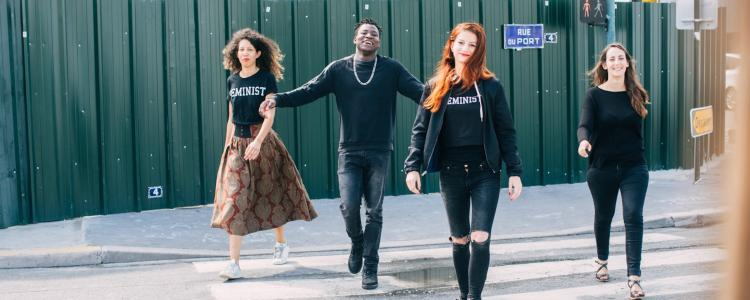 Ousmane, le réfugié musulman accueilli par des Femen