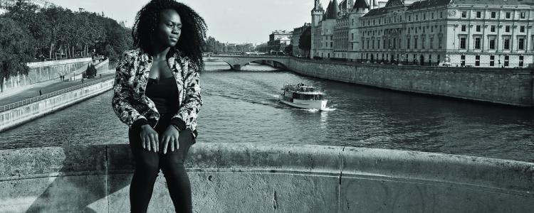 6 questions sur le sport à Paris à Clarisse Agbegnenou