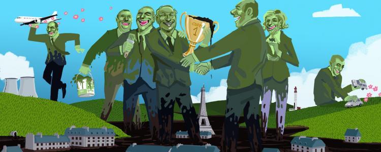 Top 5 des sponsors les plus foutage de gueule de la COP 21