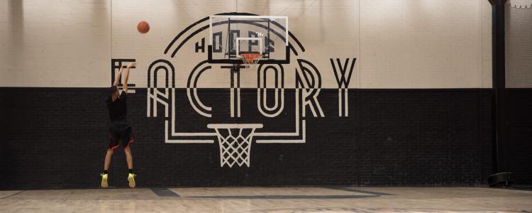 La Hoops Factory, des terrains NBA à louer à Aubervilliers