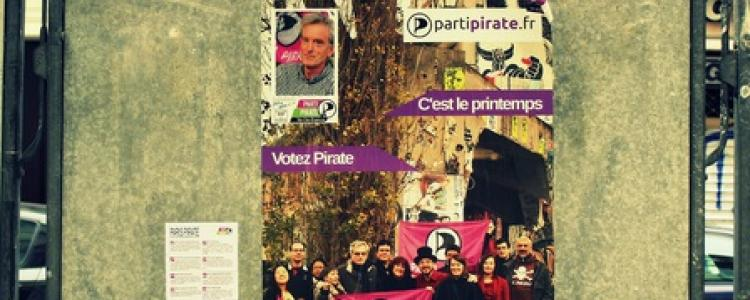 Le Parti Pirate bogue sur les municipales