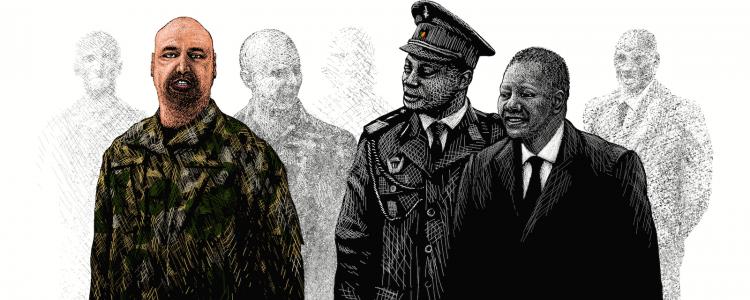 Hermant et le faux coup d'État au Congo