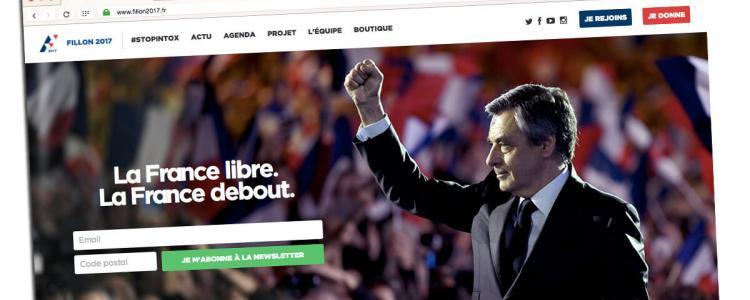 Le site Fillon2017.fr est un gruyère ouvert aux hackers